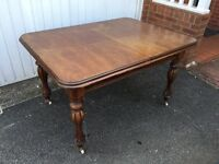 Mahogany Dining Table. Reasonable Offers welcome