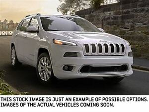 2017 Jeep Cherokee NEW CAR Limited|4x4|SafetyTecPkg|Sunroof|Back