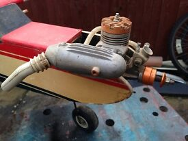 Radio control airplane spares repairs barn shed find