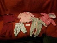 Baby set top leggings dress babygrow
