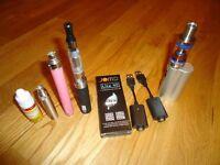 various e-cigs