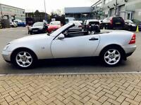 Mercedes Benz SLK 230K,Roadster,AUTO,2001,F.S.Hstry,Convertible,Low Miles,2.3ltr, MOT,Great Runner.