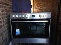 90cm beko electric range cooker