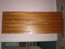 5 x Flush Standard Internal Doors– Cherry Wood Colour = £15 each or all for £60