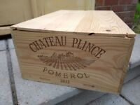 Wine rack wooden crate FATHER'S DAY