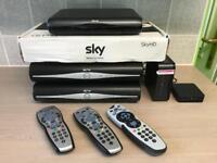 SKY+ HD ( 3 Boxes )