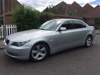 2008 58 BMW 530D SE MET SILVER PX WELCOME