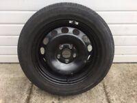 ** Brand New & Unused Spare Wheel 205 55 16 5 Stud Skoda Volkswagen Seat Audi **