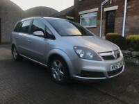 2008 Vauxhall Zafira Exclusive 7 Seater 1.6i Good Condition Great Family Car £1350