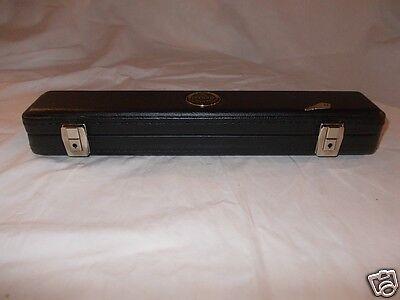 GRASSI Italy astuccio rigido x Flauto piccolo ottavino hard case in legno + key