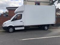 Mercedes Sprinter Luton Box Van with Tail-lift