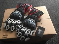 BRAND NEW XL OSX MOTORCYCLE GLOVES
