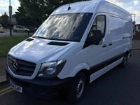 2014 MERCEDES SPRINTER 313 CDI MWB.BRILLIANT DRIVE.1 OWNER. FULL SERVICE HISTORY.E/W.CD PLAYER.CLEAN