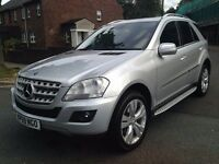 Mercedes-Benz ML 350 CDI BlueEFFICIENCY Sport 7G-Tronic 2010 FULL SERVICE HISTORY P/X WELCOME
