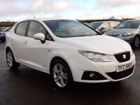 2012 seat ibiza 1.4 petrol cuppa with only 68000 miles, motd march 2018