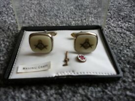 Masonic Cuff Links Set