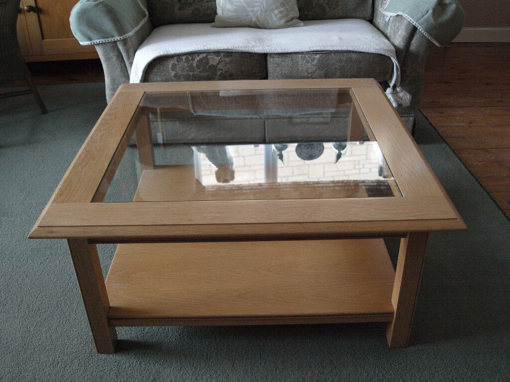 Marks And Spencer M S Lichfield American Light Oak Coffee Table