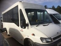 Ford transit minibus for sale ideal camper conversation