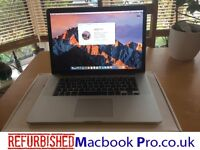 "Apple MacBook Pro 15"" 2.3GHz i7, 16GB RAM, 500GB, BOXED, 1yr Warranty! Mint Cond, Office!"
