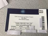 2x Olly murs tickets London 02