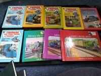 Nine Vintage Thomas the Tank Engine Books