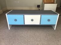 Lovely upcycled storage unit with 3 deep drawers