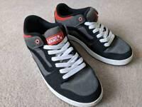 Vans skate shoes, UK size 8