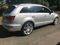 07 Audi Q7 *Pan Roof* diesel 7 Seater Family Car MPV px CHEAP VW BMW Mercedes estate