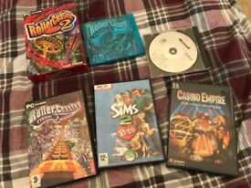 6 Assorted PC Games For Sale