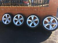 """19"""" Audi A5 Wheels With Tyres Genuine, Fit A3, A4, A5, A6, VW, Seat, Skoda, Merc"""