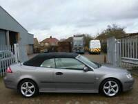 2007 Saab 9-3 1.9 TiD Vector 2dr Convertible🔶🔷🔶DIESEL🔶🔷🔶ALLOYS🔶🔷🔶LEATHER🔶🔷🔶