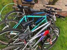 Job lot of 4 bikes