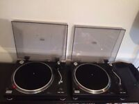 2x Direct Drive Turntables - Sound Lab DLP3R