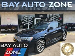 2016 BMW X4 xDrive28i M SPORT PKG+NAVI+REAR CAMERA+SUNROOF