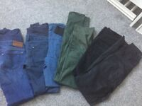 Bundle of maternity trousers