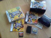 Nintendo DS guitar hero games x 2