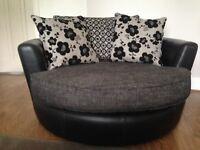 Love Seat / Cuddle Chair / Swivel Chair
