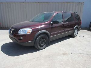 2008 Pontiac Montana SV6 FWD Front-wheel Drive Extended Passenge