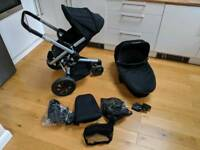 Quinny Buzz xtra pushchair pram with carrycot