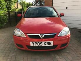 2005 Vauxhall corsa 1.0 64k genuine , full history , 4 new tyres , new pads and disks
