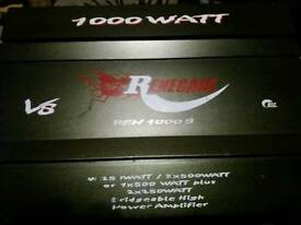 Renegade 1000w Car Amplifier