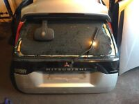 2004 mitsubishi shogun l200 warrior sport tailgate boot lid in silver