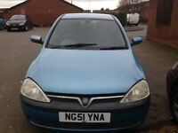 Mint condition Vauxhall corsa 1.2 baby blue