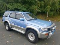 1996 TOYOTA HILUX SURF 3.0 DIESEL SSR-G INTER COOLER AUTOMATIC 4X4 BLUE 12 MONTHS M.O.T