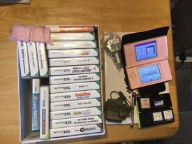 Nintendo DS Lite with 22 games