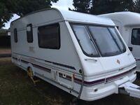 Swift Challenger 480SE 1998 2 berth caravan