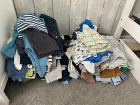 Boys 6-9/9-12 months clothes..