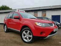 2007 Mitsubishi Outlander Elegance 2.0 Did 7 SEATER 4x4! FULL LEATHER! SAT NAV! HEATED SEATS! FSH!