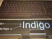 Indigo QWERTY backlit keyboard