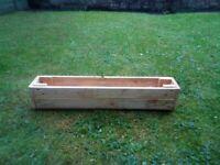 Slimline planter/ window box